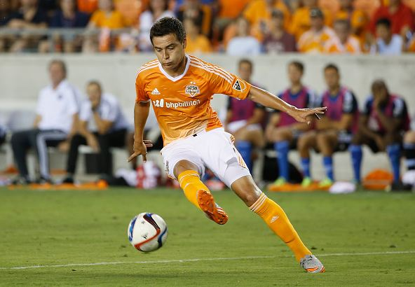 "Houston Dynamo forward Erick ""Cubo"" Torres hasn't played much this season, but could feature on Saturday. Photo credit: Scott Halleran/Getty Images Sport"