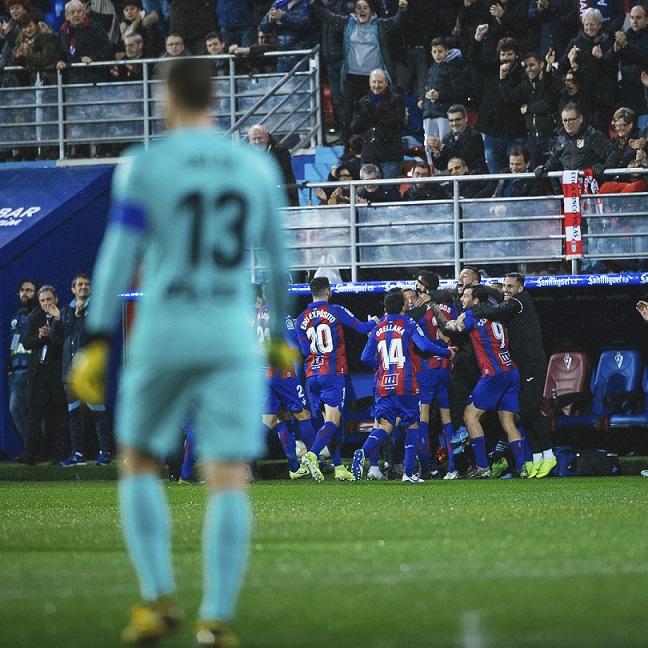 Última victoria del Eibar frente al Atlético de Madrid. / Twitter: SD Eibar oficial