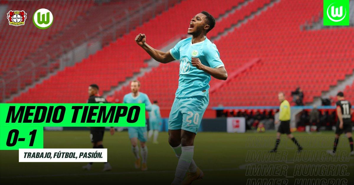 Baku, el jugador que abrió el marcador del encuentro. / Twitter:VFL Wolfsburgo