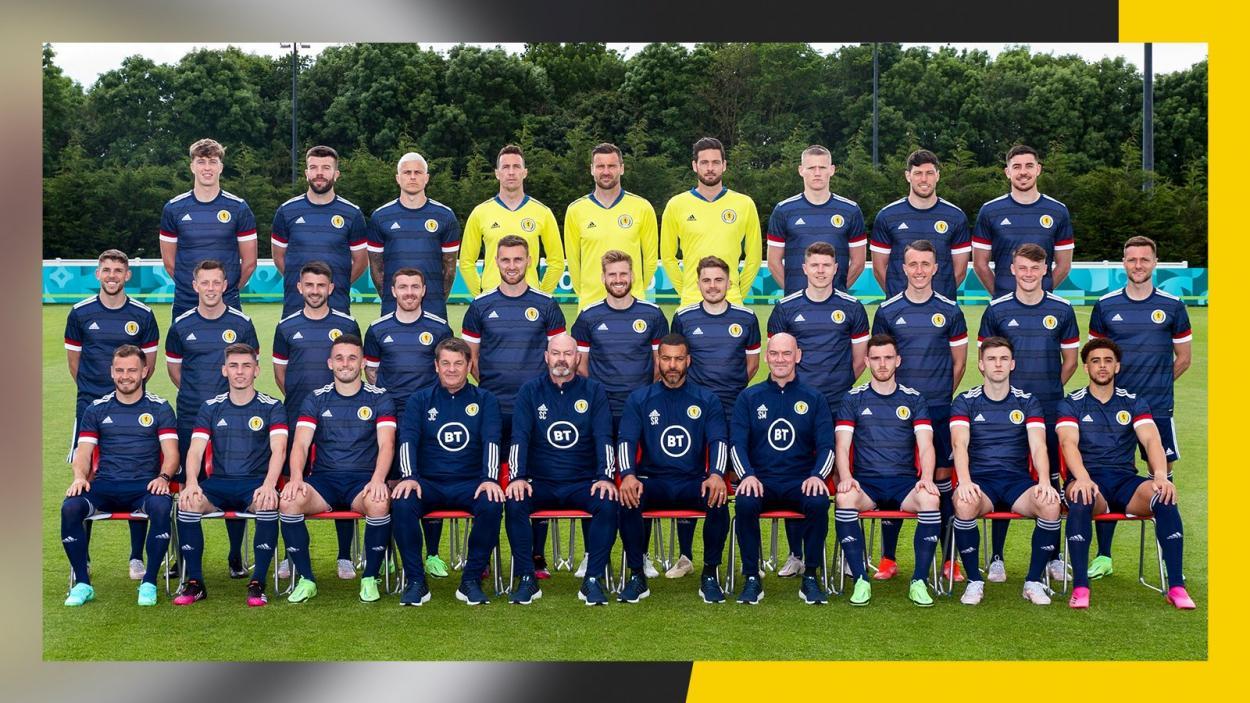 Convocatoria de Escocia para la Eurocopa   Imagen: @ScotlandNT