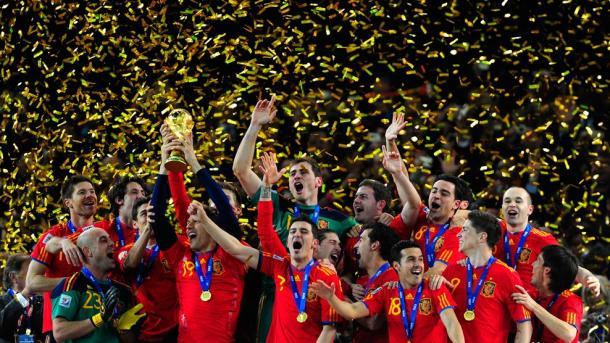 El primer mundial teñido de rojo español para la mejor generación. Fuente: FIFA.