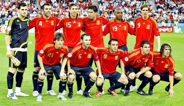 Los jugadores de La Roja en la temporada 07-08 (equiposdefutbol2.blogspot.com.es)