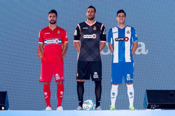Espanyol are amongst the many clubs for whom Joma design kits for. (Photo: RCD Espanyol)