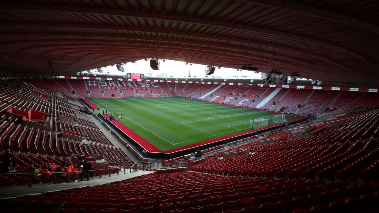 Estadio del Southampton FC. Fuente: Premier League.