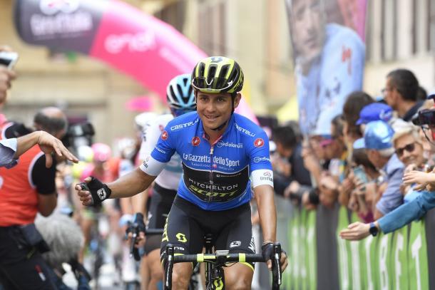 Esteban Chaves ha perdido todas las opciones para ser maglia rosa | Foto: Giro de Italia