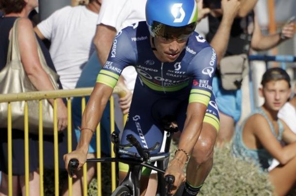 Esteban Chaves fue tercero en la última Vuelta a España | Foto: Vuelta a España