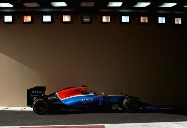 Esteban Ocon durante el GP de Abu Dhabi | Fuente: Getty Images