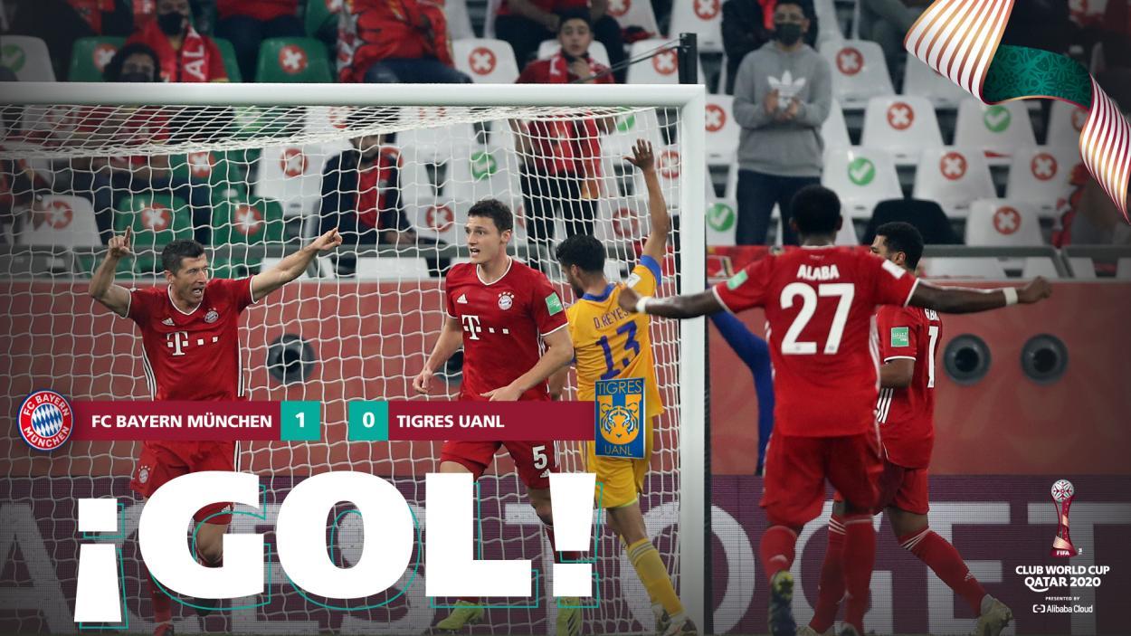 Pavard, el responsable de que el Bayern Múnich levantara su sexto título. / Twitter: FIFA oficial