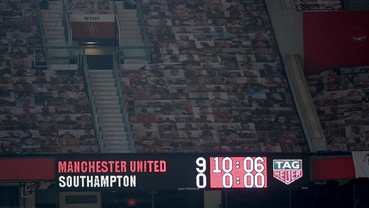 Un marcador para la historia / FOTO: Manchester United
