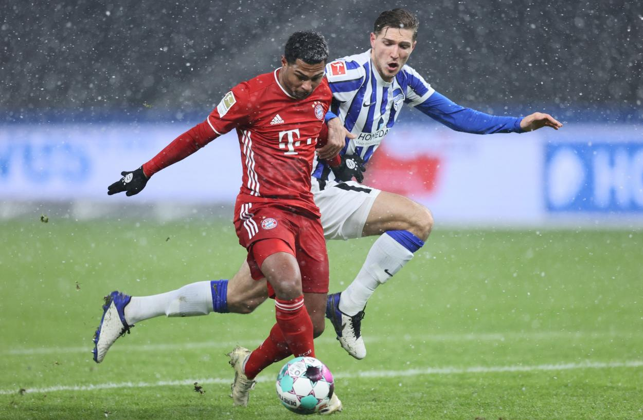 Disputado duelo entre ambos equipos. / Twitter: Bundesliga English oficial
