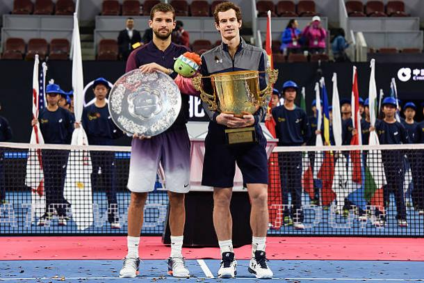 Dimitrov and Murray faced off in the final last year (Getty/Etienne Oliveau)