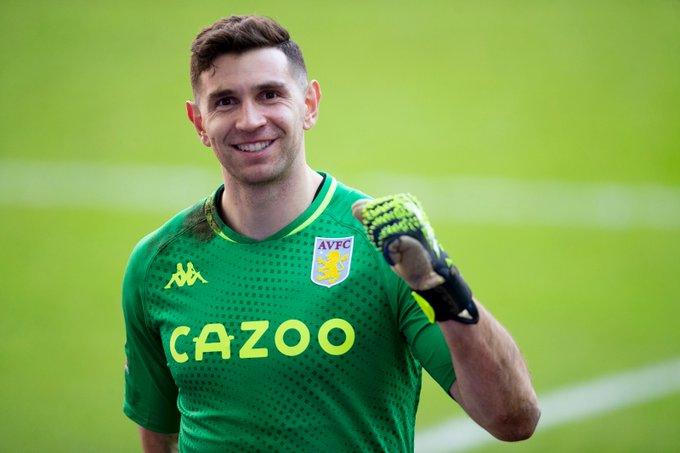 Emiliano Martínez, ex-goleiro do Arsenal e hoje no Aston Villa (Foto: Divulgação/Aston Villa)