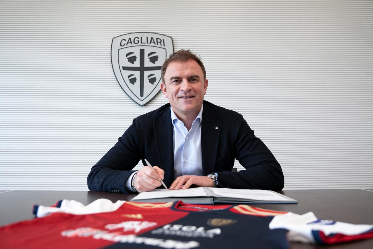 Leonardo Semplici | Foto: Divulgação/Cagliari Calcio