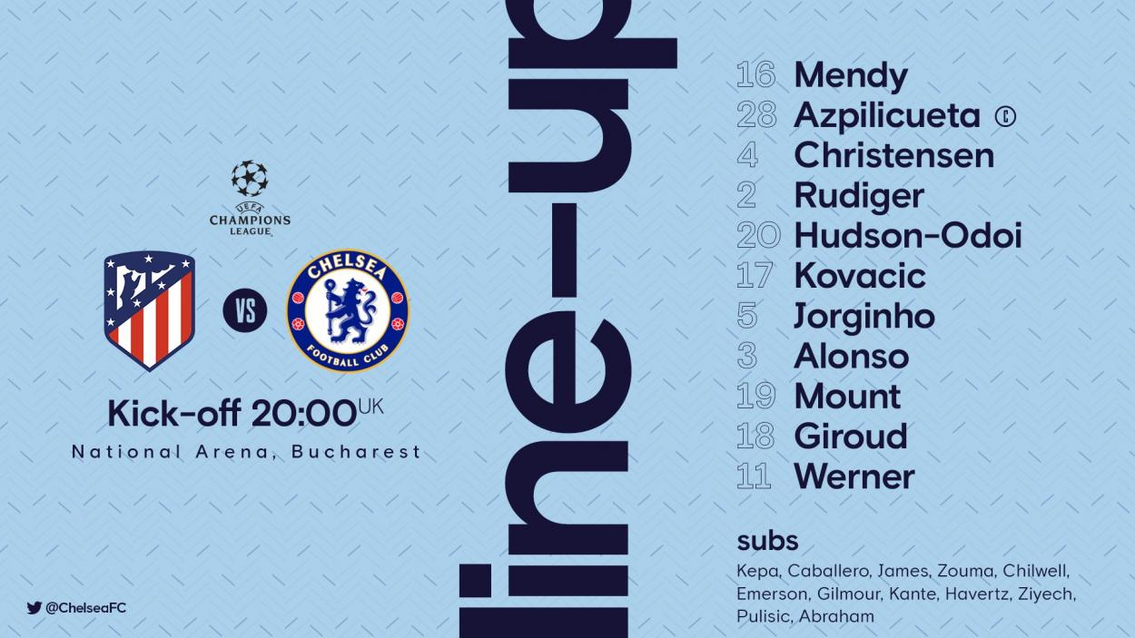 Twitter: Chelsea FC oficial