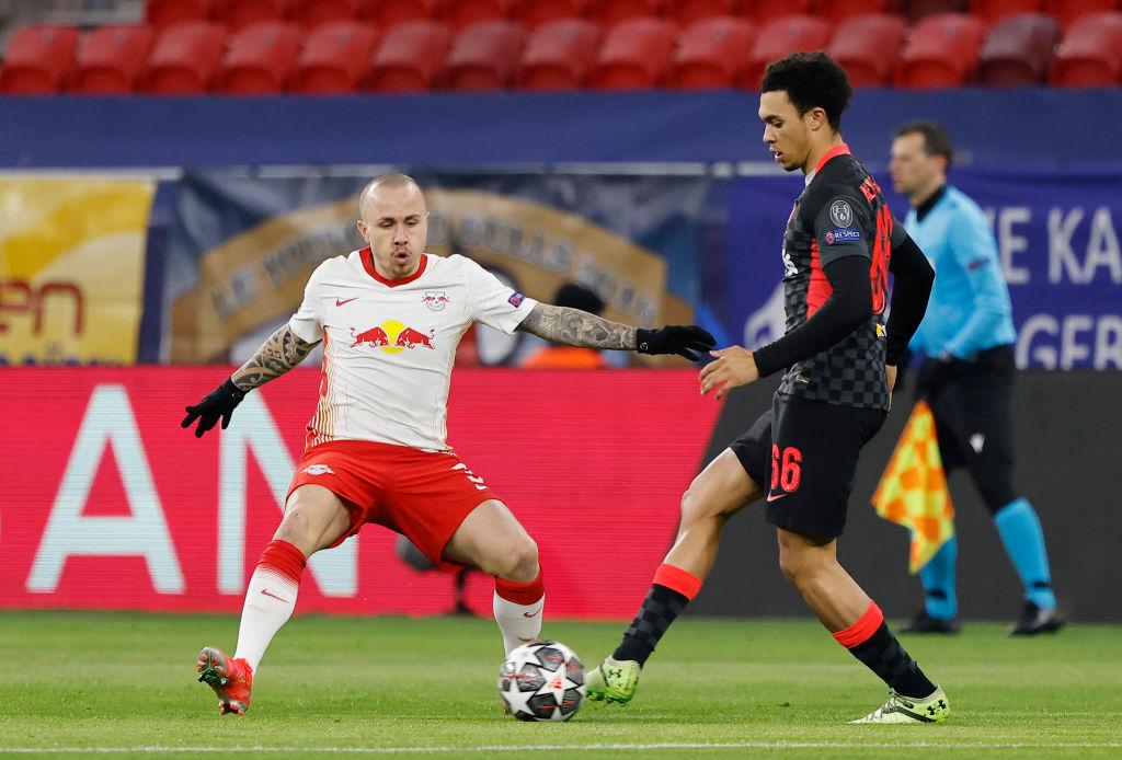 Igualado primer tiempo. / Twitter: RB Leipzig English oficial