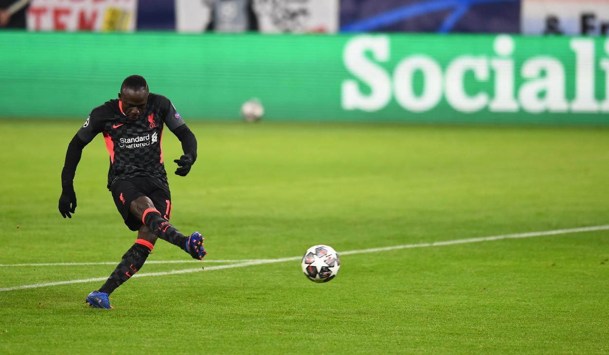 Sadio Mané, el encargado de sentenciar el encuentro. / Twitter: Liverpool FC oficial