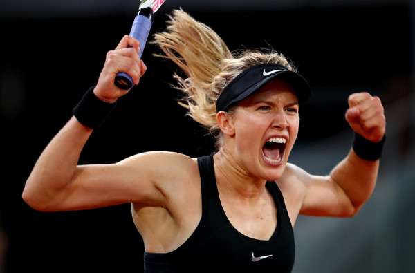 Eugenie Bouchard was understandably delighted with her win | Photo: Clive Rose/Getty Images Europe
