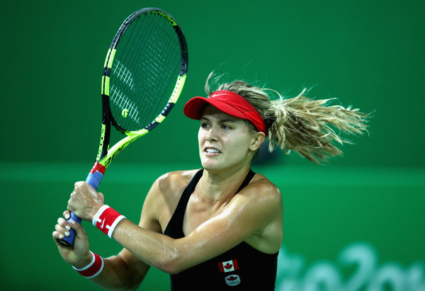 Bouchard at her debut Olympics | Photo: Clive Brunskill/Getty Images South America