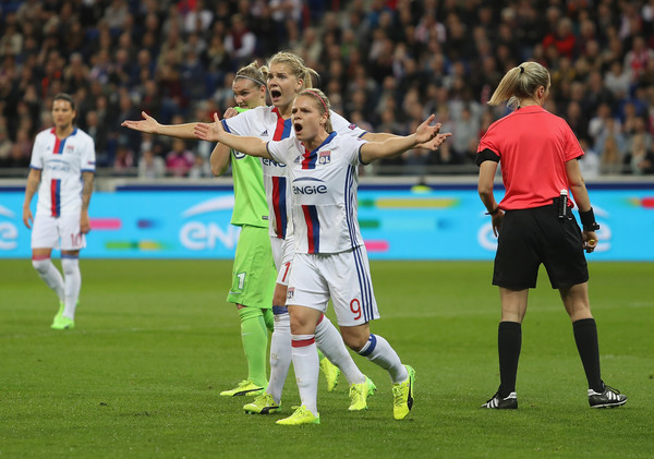 OL's strikers are a threat to any defense | Source: Christopher Lee/Getty Images Europe