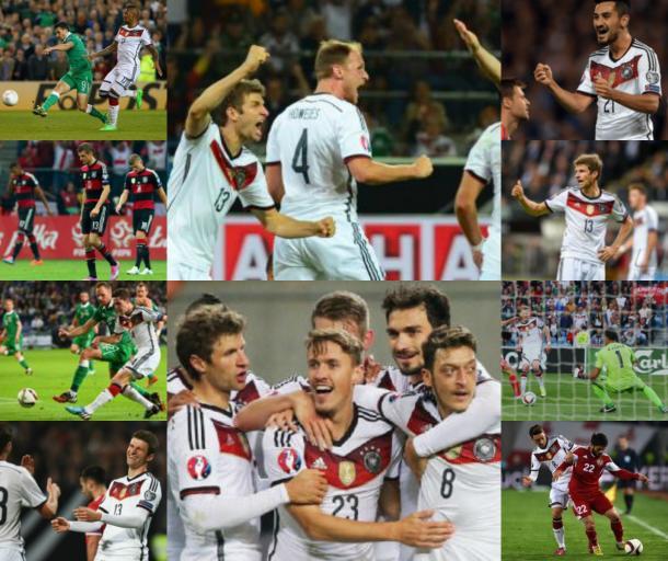 Le qualificazioni ad Euro 2016 tedesche: un collage riassuntivo. | Google, VAVEL.com.