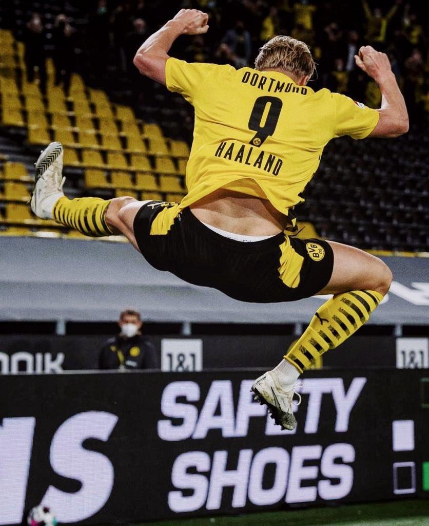 El día sábado el noruego marcó el gol número 100 de su carrera. / Twitter: Erling Haaland oficial