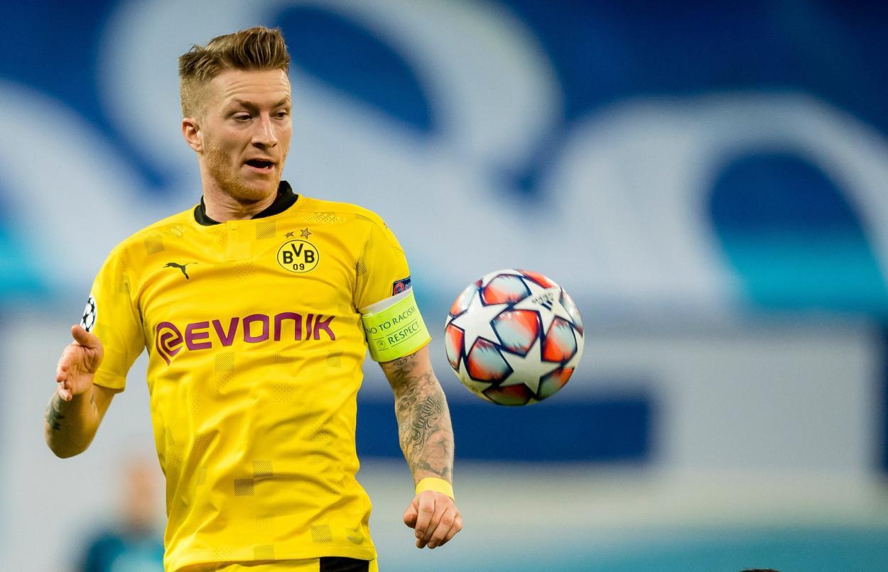 Reus, capitán del Borussia Dortmund. / Twitter: Borussia Dortmund oficial