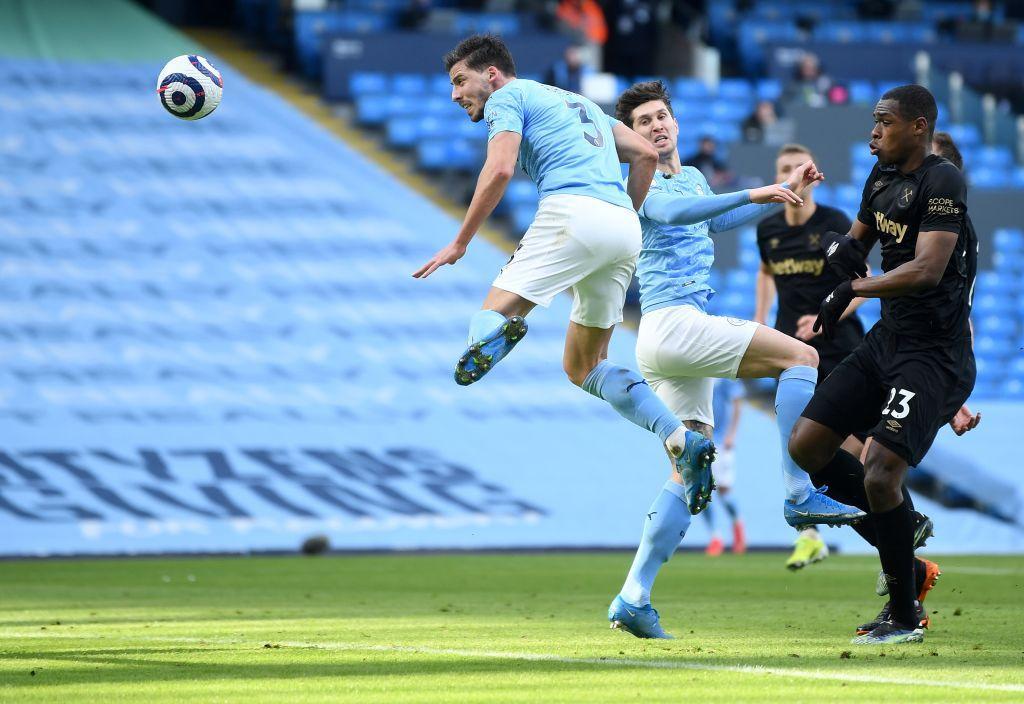 Rúben Dias se estrenó como goleador / FOTO: Premier League