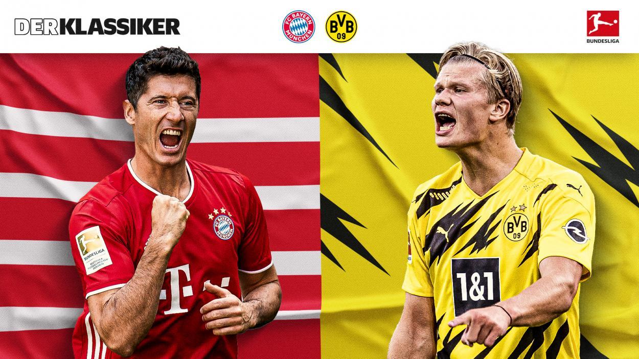 Tanto Lewandowski como Haaland buscarán encaminar a sus equipos a la victoria. / Twitter: Bundesliga English oficial