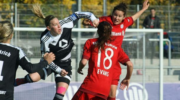 Frankfurt's trip to Bavaria should be another entertaining clash. | Photo: DFB.de
