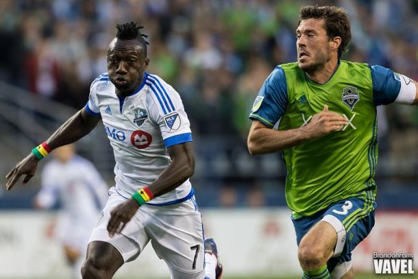 Brad Evans (right) will more than likely fill Andreas Ivanschitz spot in the starting XI | Source: Brando Fariis - VAVEL USA