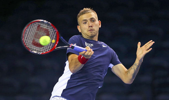 Not to be for Dan Evans in his second encounter against Nishikori.