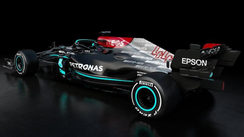 Mercedes W12. Foto: Twitter Mercedes