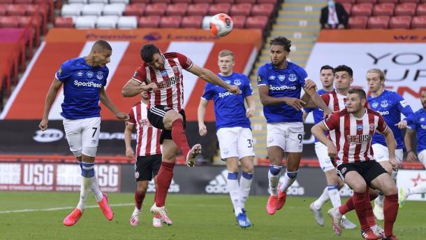 Gol de Richarlison. Foto: Premier League