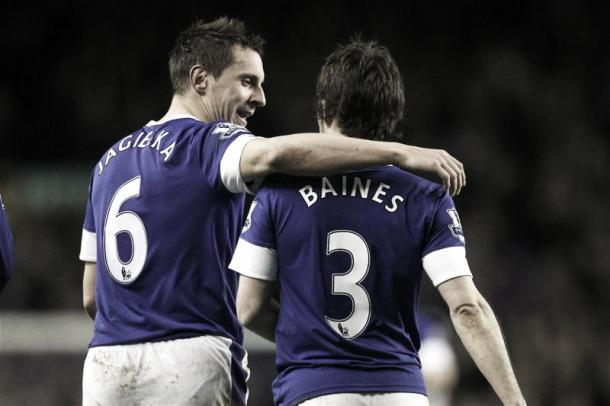 The Everton duo missed out on a seat on the plane. Photo- www.theguardian.com