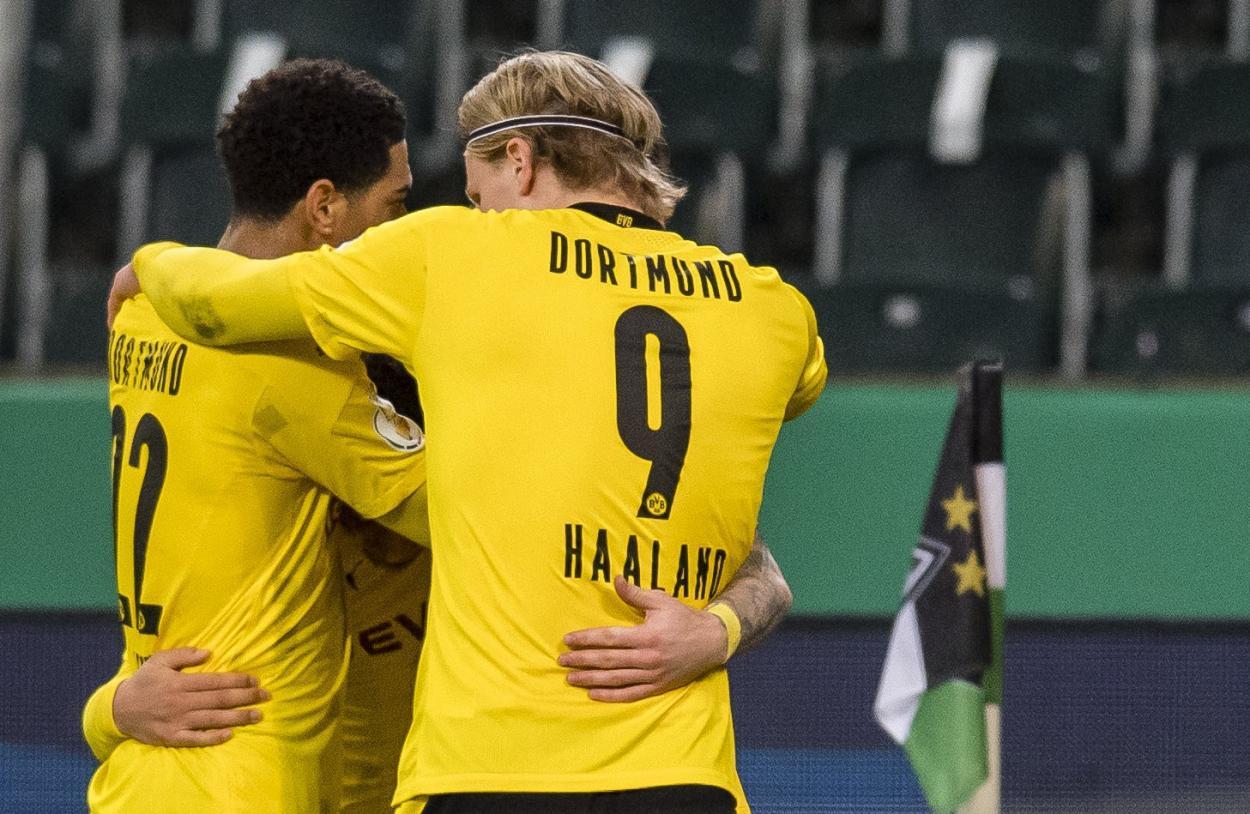 Haaland buscará guiar al Dortmund a una gran victoria. / Twitter: Borussia Dortmund oficial