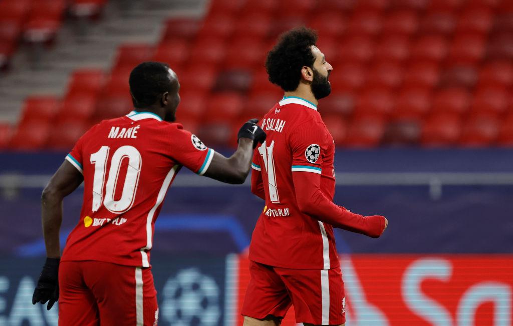 Salah y Mané fueron los jugadores que sentenciaron al Leipzig.