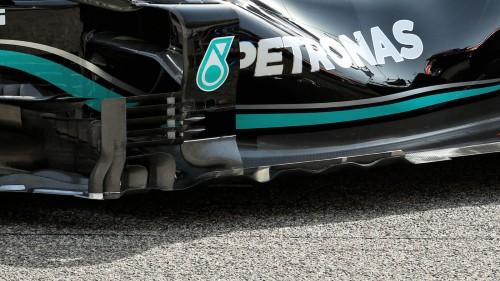 Nuevo fondo plano para Mercedes. Fuente: Formula 1