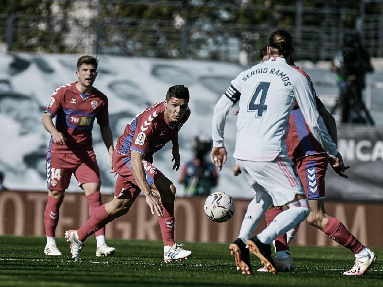 Real Madrid y Elche igualan 0-0 | Foto: Elche