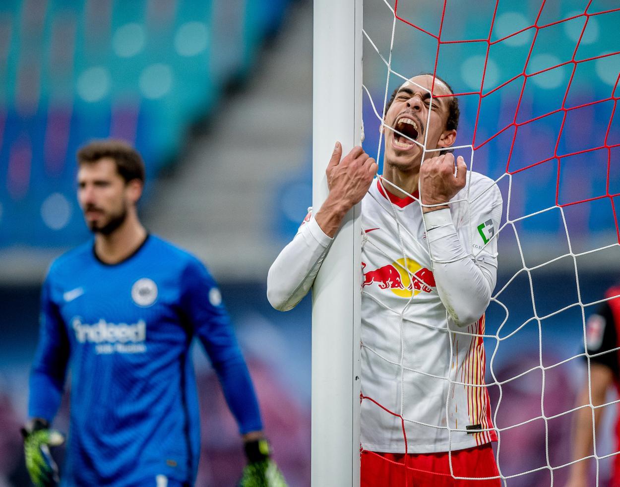 El Leipzig no pudo pasar del empate y pierde dos puntos en el Red Bull Arena. / Twitter: Die Roten Bullen oficial