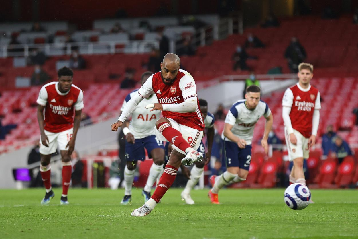 La remontada llegó con el gol de Lacazette / Foto: @Arsenal