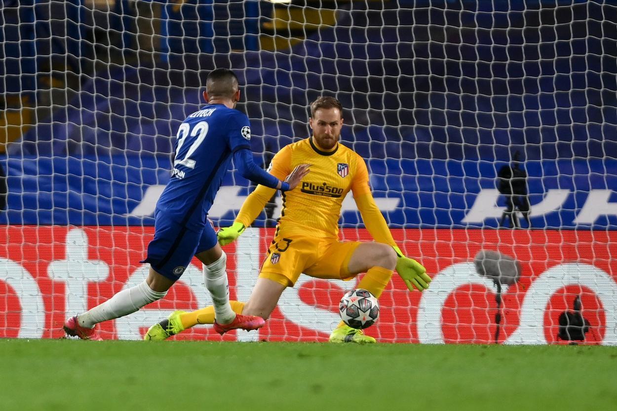 Ziyech materializando el 1-0 / FOTO: Chelsea FC