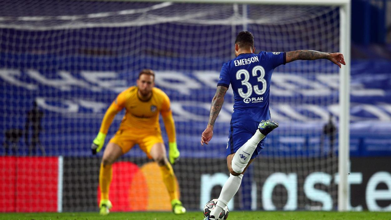 Emerson poniendo el 2-0 / FOTO: Chelsea FC