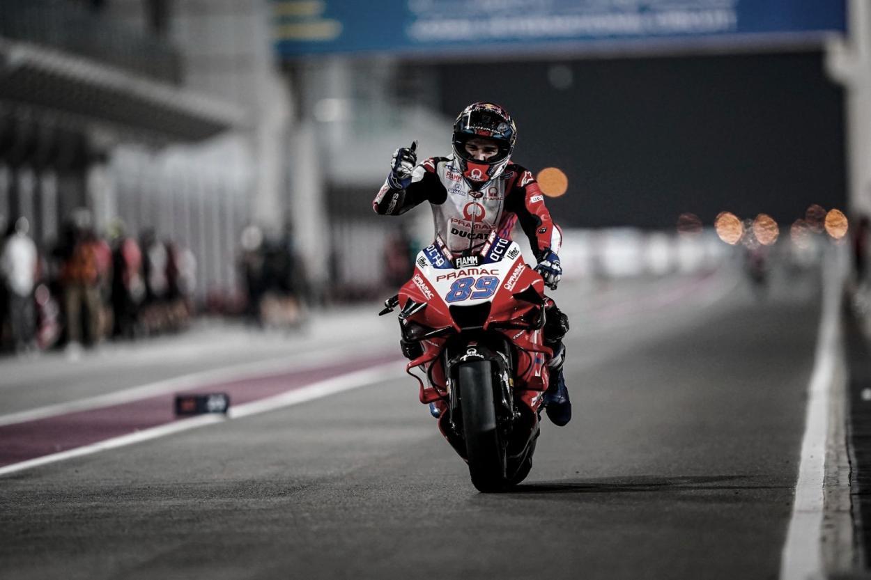 Jorge Martín, Gran Premio de Qatar / Fuente: Twitter