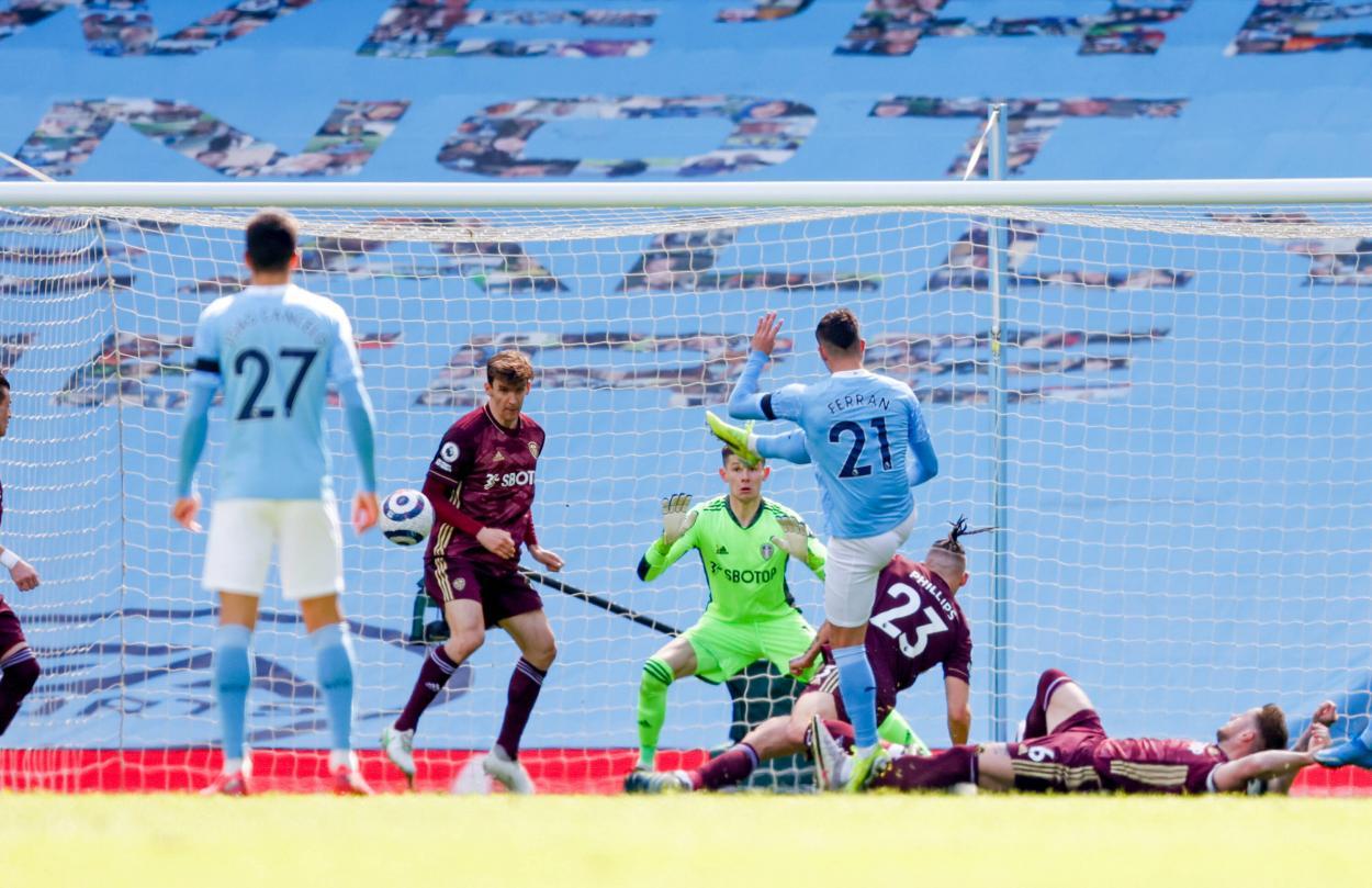 Ferran en la acción del empate / FOTO: Premier League