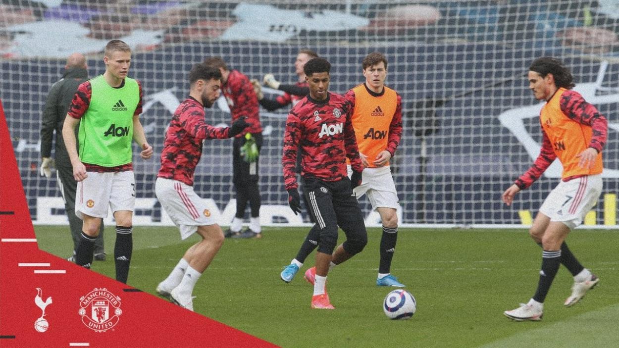 Calentamiento antes del encuentro / Foto: Manchester United