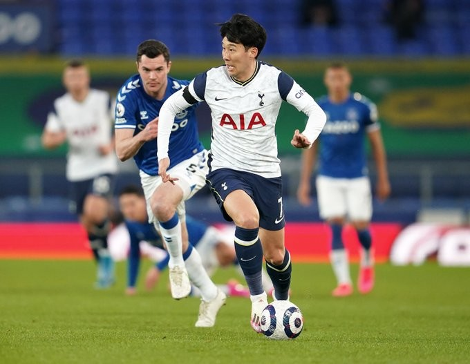Son perseguido por Keane / Foto: Tottenham