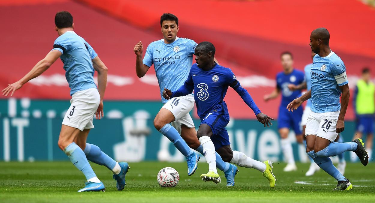 Kanté dinamitó cada posesión del City / FOTO: Chelsea FC