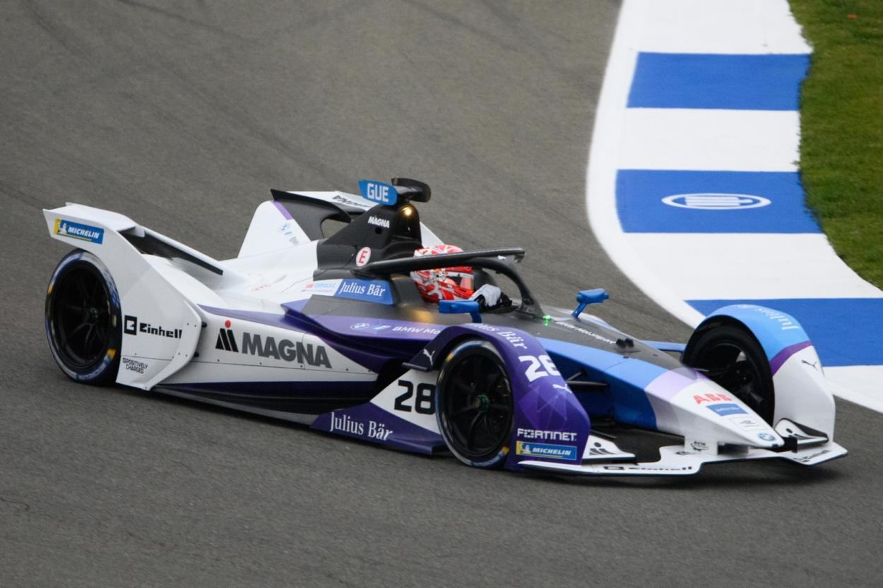 Maximilian Gunther durante los entrenamientos libres | Fotografía: ABB Fórmula E