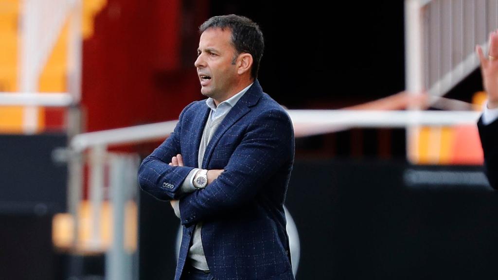 Javi Calleja, entrenador del Deportivo Alavés   Foto: LaLIga
