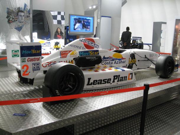 Coche de Formula Nissan de Fernando / Fuente: Wikipedia
